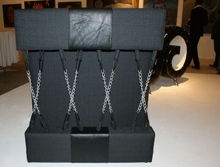 Chain Chair - back view
